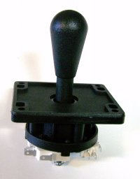 IL EUROSTICK /COMPETITION 8 WAY JOYSTICK - BLACK